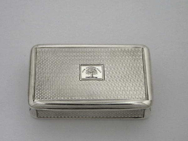 Adolf Slaby's Snuff Box