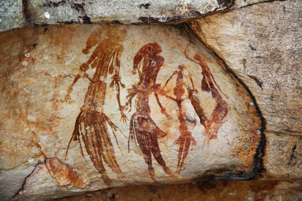 Bradshaw Dreamtime Rock Painting