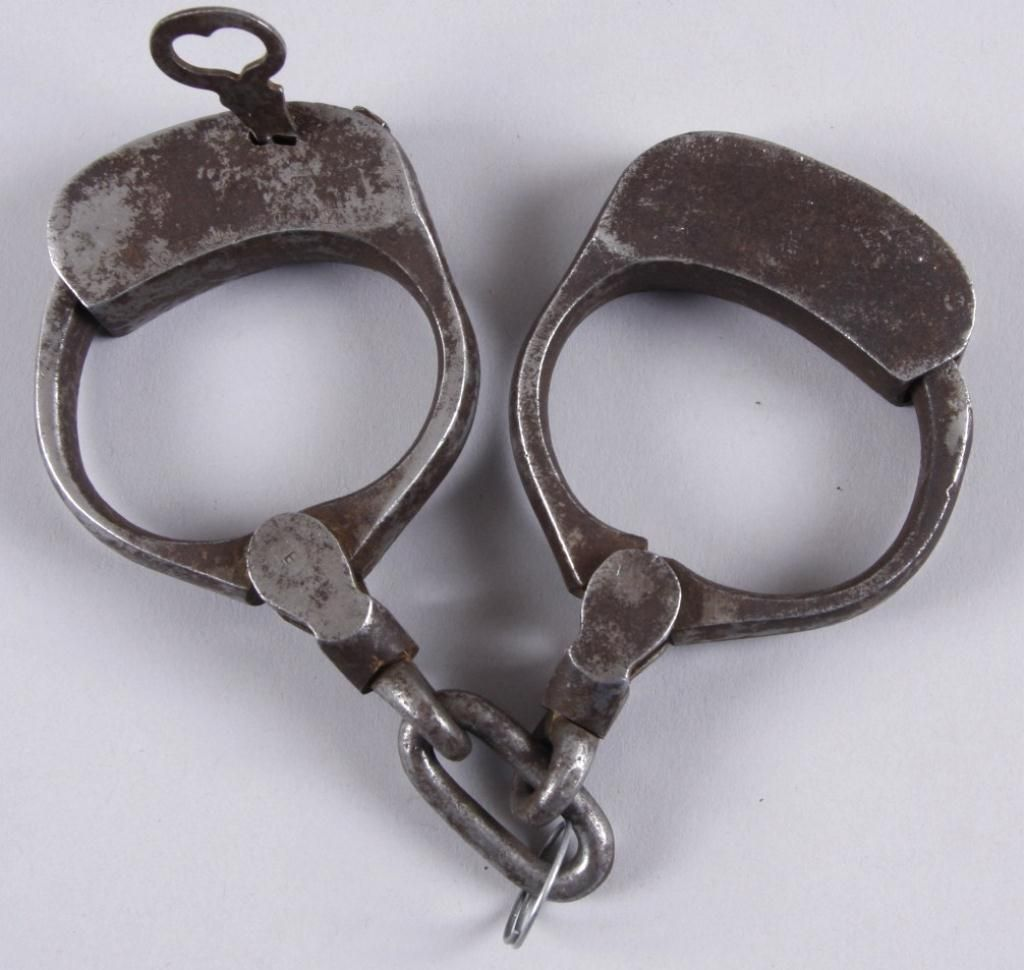 Handcuffs from the Magic Castle