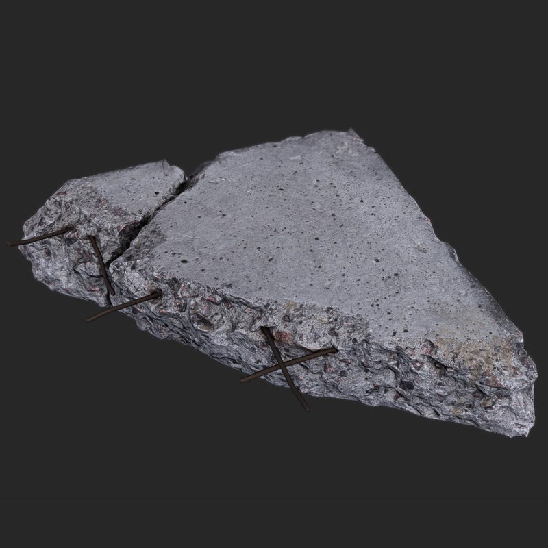 Rubble from the North Tower
