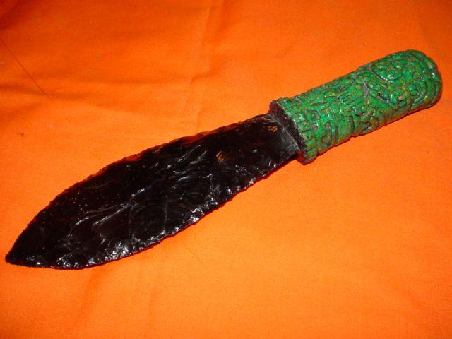 Mayan Sacrificial Knife