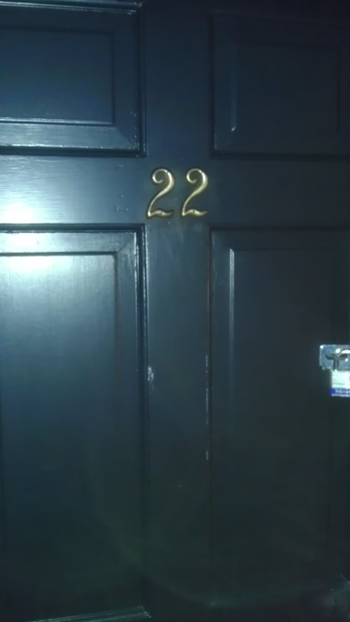 Room 22 Door