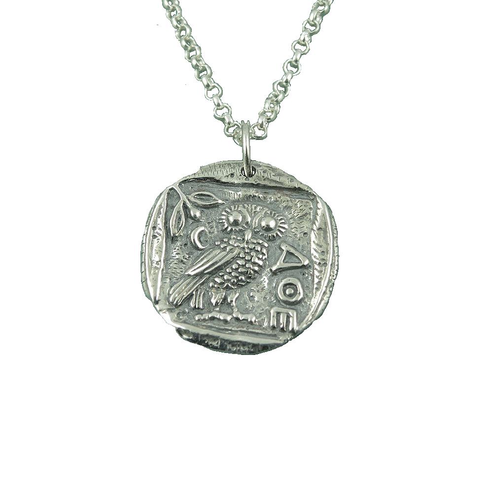 Alexander Grey's Owl Pendant