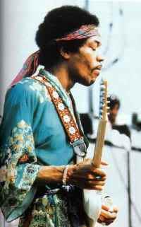 Jimi Hendrix's Bandana