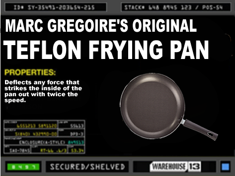 Original Teflon Coated Pan