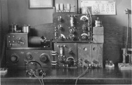 Elise Olmstead's Radio Equipment