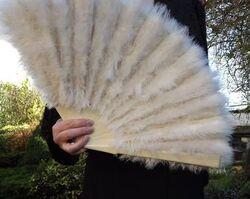 Anna Pavlova's Swan-Feather Fan.jpg