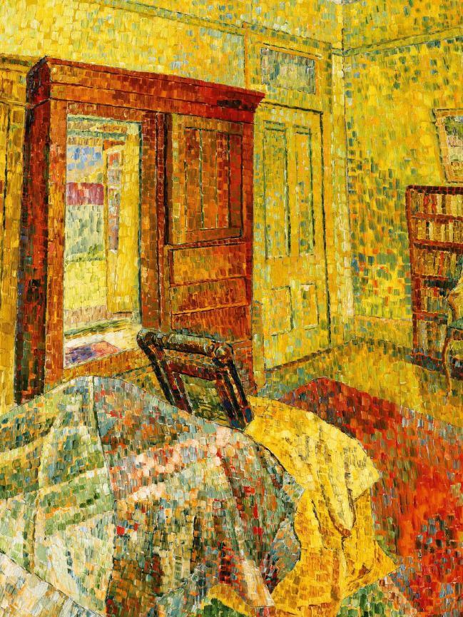 "Grace Cossington Smith's ""Interior in Yellow"""