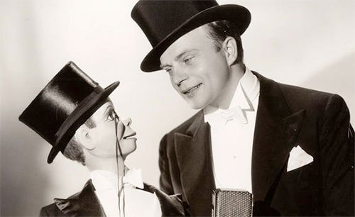 Edgar Bergen and Charlie McCarthy's Top Hats