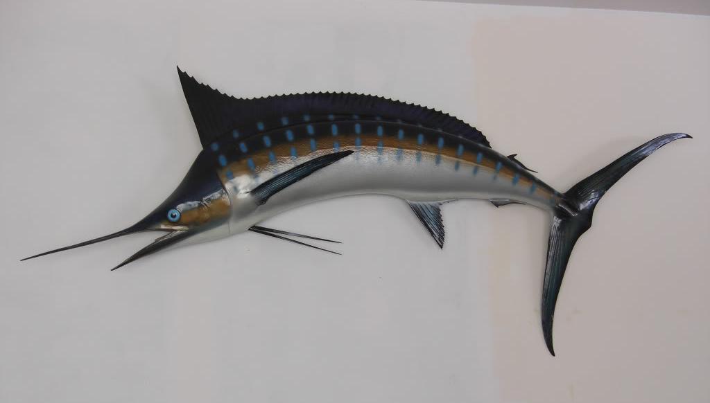 Ernest Hemingway's Stuffed Marlin