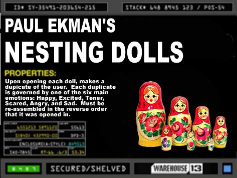 Paul Ekman's Nesting Dolls