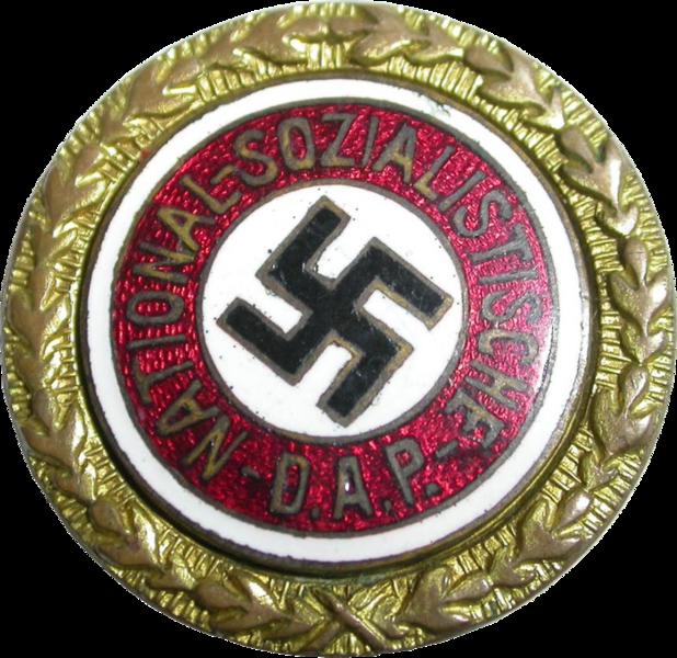 Heinrich Müller's Golden Party Badge