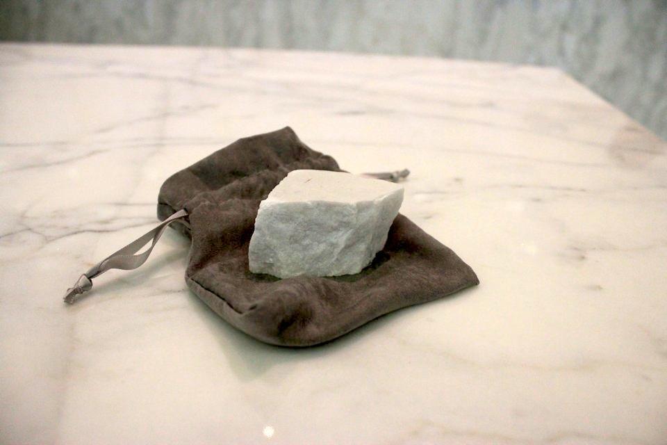Giacomo Casanova's Chunk of Black Marble
