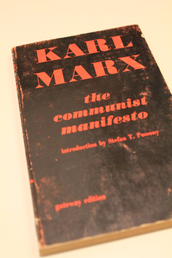 "Pol Pot's Copy of ""The Communist Manifesto"""