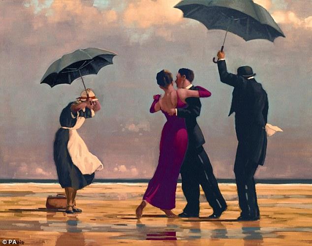 "Jack Vettriano's ""The Singing Butler"""