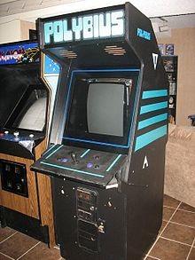 ''Polybius'' Arcade Cabinet