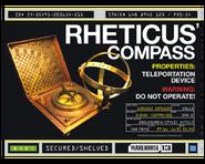 Rheticus Compass Shelving Screen Shirt Print