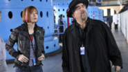 Warehouse 13 - S2Ep01 - Claudia and Artie at the Nuclear Research Facility