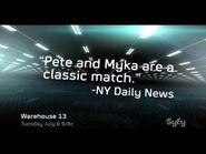 Warehouse 13- Season 2 Upfronts interview
