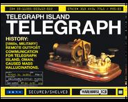 Island Telegraph Shelving Screen Shirt Print