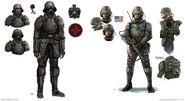 Fifth Reich Soldier vs US Soldier (2061)