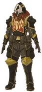 Calamity Raven Heavy Gatling Soldier