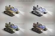 Soviet Lightning Cruiser Tank