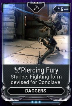 Piercing Fury