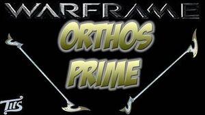Warframe 10 ♠ Corrupted Orthos Prime