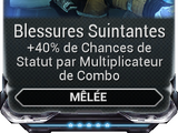 Blessures Suintantes