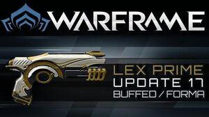 Warframe Lex Prime