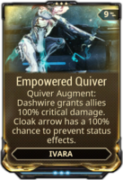 Empowered Quiver