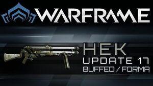 Warframe Hek - Buffed & Forma