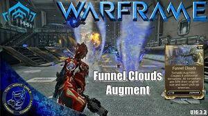 Warframe Zephyr's FUNNEL CLOUDS Augment (U16.3
