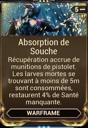 Absorption de Souche