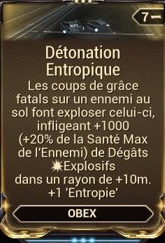 Détonation Entropique