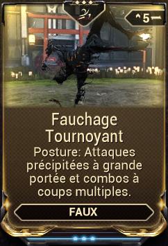 Fauchage Tournoyant