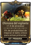 Ofensiva del vigilante