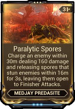 Paralytic Spores