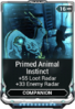 Primed Animal Instinct