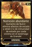 Nutrición abundante