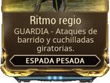Ritmo regio