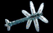 Diseño Hacha de dagas de Scindo