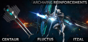 Tenno Reinforcements Archwing