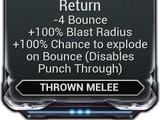 Volatile Quick Return