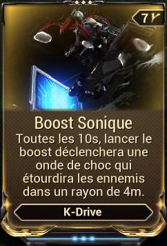 Boost Sonique