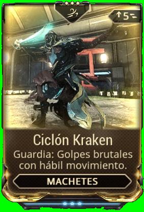 Ciclón Kraken