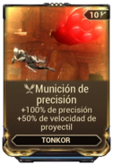Munición de precisión