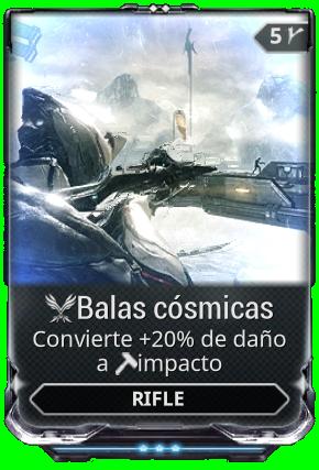 Balas cósmicas