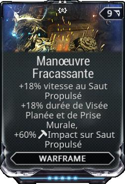 Manoeuvre Fracassante